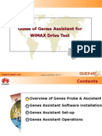 Guide to GENEX Assistant Drive Test (20101031)