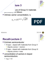 L4 Drift, Diffusion, PN Junction