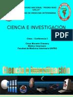 Clase-conferencia 3 Ciencia e Investigación 2015-1