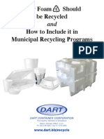 Municipal Foam Recycling