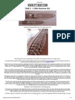 Model PT Boat