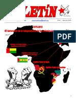 Boletin del Ateneo Paz y Socialismo de junio de 2015