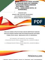 PPT Jurnal Analisis Dinamik Respons Spektra