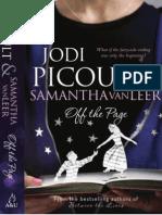 Jodi Picoult Samanta Van Leer - Off the Page