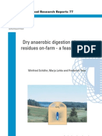 Anaerobic Digestion Mass Ballance