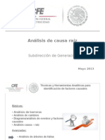 Presentacion Analisis Arbol de Fallas 2013