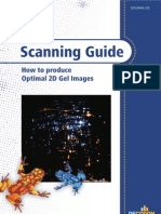 Scanning Guide - How to produce optimal 2D Gel Images