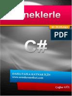 C-Programlama - Eemdersnotlari.com Örneklerle E-Kitap C#