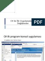 C-Programlama - Atatürk Üniversitesi Ders Notları (Slayt)