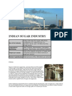 Indian Sugar Industry