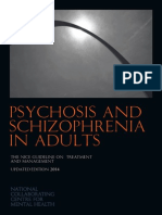 Psychosis and Schizophrenia