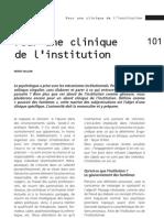 Clinique Institution