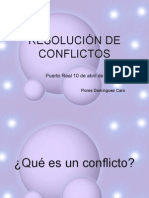 RESOLUCIÓN DE CONFLICTOS.ppt