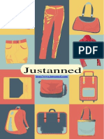 Justanned Leather Products & Accessories Catalogue - 2015
