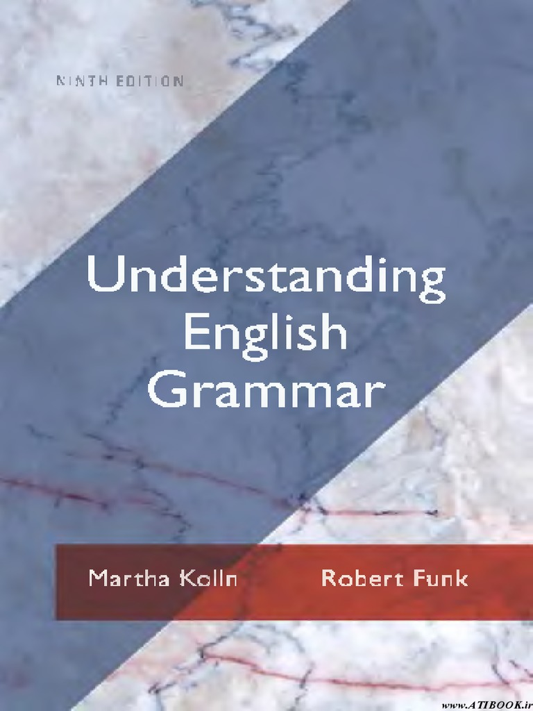 9780205209521 Understanding English Grammar | Adjective | Verb