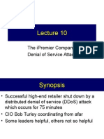 Lecture 10 - Case - IPremier