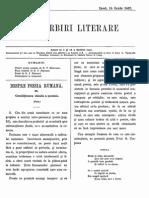 Convorbiri Literare 15 Iunie 1867