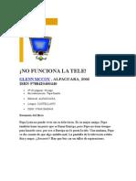 ¡NO FUNCIONA LA TELE!.doc