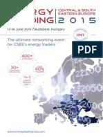 Energy Trading Week 17-18 June 2015 Budapest