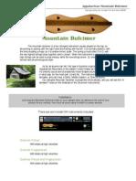 Mtn Dulcimer User Guide