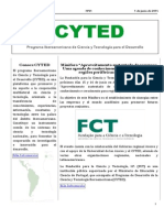 Boletín Cyted Nº21 2015 Web