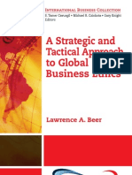 A Strategic and Tactical Approach to Global Business Ethics