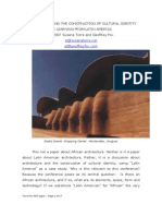 Architecture and the Construction of Cultural Identity. Learning from Latin America