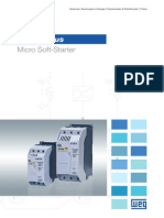WEG Soft Starter Ssw05 10413073 Catalogo Portugues Br