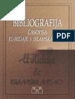 Bibliografija Casopisa El-Hidaje i Islamska Misao