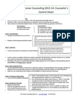 Career Counsler Training Manual 2013-14