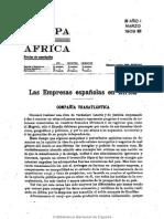 Europa en África. 3-1909, Nº 3