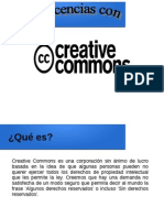 Licencias Creative Commons CC