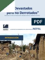 Reconstrucción Nepal - Cast