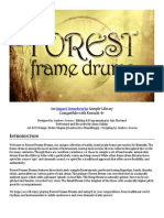 Forest Frame Drums Manual