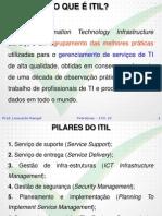 Gerenciamento Serviços de TI com PMBOK