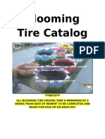 blooming tire catalog front page