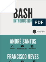 Bash Introduction