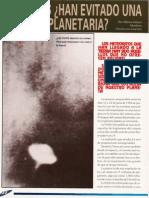 Los Ovnis ¿Han Evitado Una Colision Planetaria R-080 Nº033 - Reporte Ovni