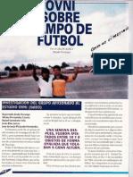 Ovni Sobre Campo de Futbol R-080 Nº033 - Reporte Ovni