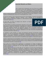 Planeación Educativa en México