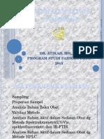 1 Pendahuluan Kimia Analisis Farmasi 2014 15