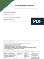 planificaciones unidad II 4° básico