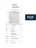 The New York Times - Articulo