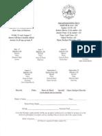 Tri Co. SHA Entry Form