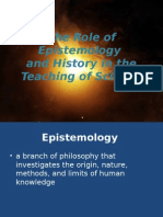 The Role of Epistemology and History in Teaching Science