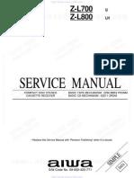 Manual de servico Diagrama Aiwa Cx-sl800lh