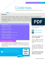 Credentials 2015 May