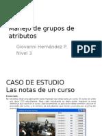 n3 Manejo de Grupos de Atributos
