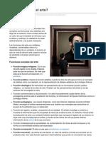 Arte.about.com-Para Qu Sirve El Arte