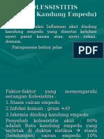 KOLESSISTITIS